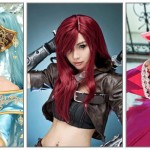 [Cosplay] League Of Legends : Katarina, Annie & Sona par les SPCats.