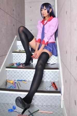 bakemonogatari-hitagi-senjougahara-ero-cosplay-by-necoco(9)