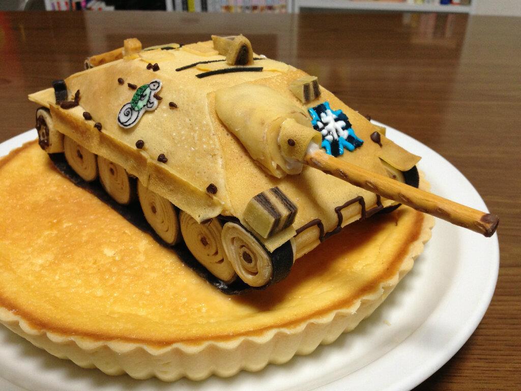 La multi ani Haya Girls-und-panzer-cake