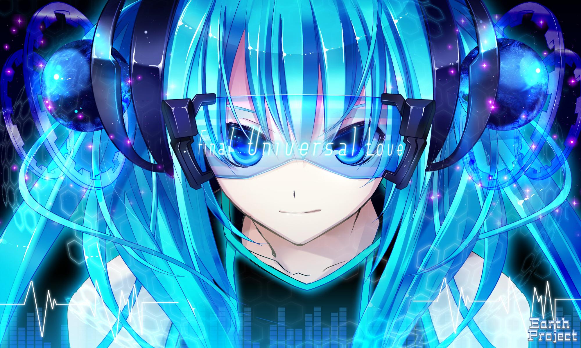 Miku headphones