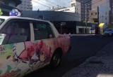 Plus le film se rapproche, plus les petits events affluent ! Je vous presentais l'Ultimate Madoka grandeur nature qui était visible du coté d'Osaka. Et bien aujourd'hui, voici le taxi...