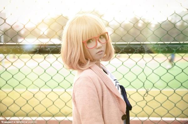 [Cosplay] Mirai & Mitsuki - Kyoukai no Kanata  (2)
