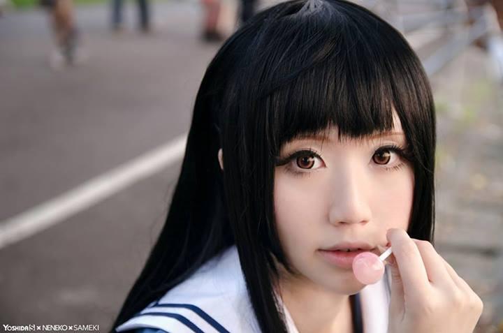 [Cosplay] Mirai & Mitsuki - Kyoukai no Kanata  (4)