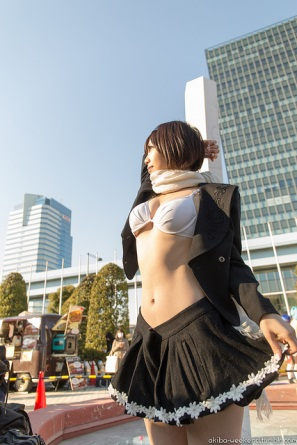 【C85】Comiket 85 WINTER 2013 – DAY 3 COSPLAY (19)