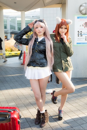 【C85】Comiket 85 WINTER 2013 – DAY 3 COSPLAY (27)