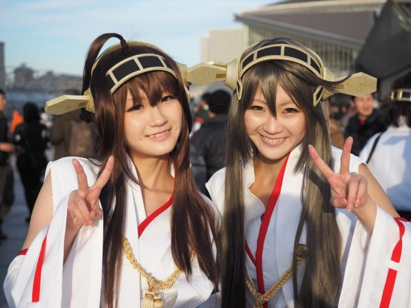 【C85】Comiket 85 WINTER 2013 – DAY 3 COSPLAY (50)