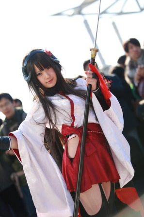 【C85】Comiket 85 WINTER 2013 – DAY 3 COSPLAY (60)