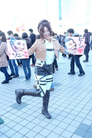 【C85】Comiket 85 WINTER 2013 – DAY 3 COSPLAY (83)
