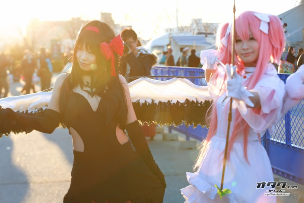 【C85】Comiket 85 WINTER 2013 - DAY 1 COSPLAY (1)
