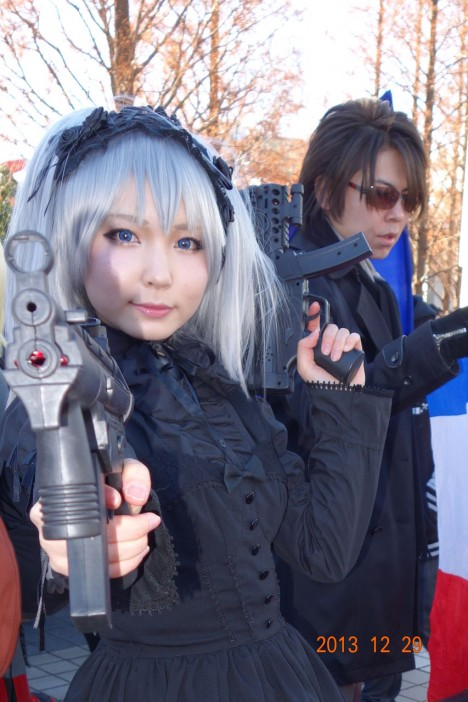 【C85】Comiket 85 WINTER 2013 - DAY 1 COSPLAY (109)