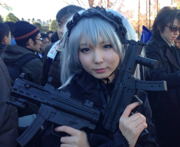 【C85】Comiket 85 WINTER 2013 - DAY 1 COSPLAY (11)