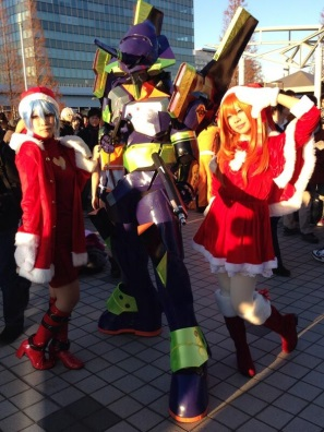【C85】Comiket 85 WINTER 2013 - DAY 1 COSPLAY (16)