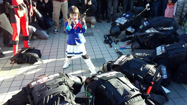 【C85】Comiket 85 WINTER 2013 - DAY 1 COSPLAY (20)