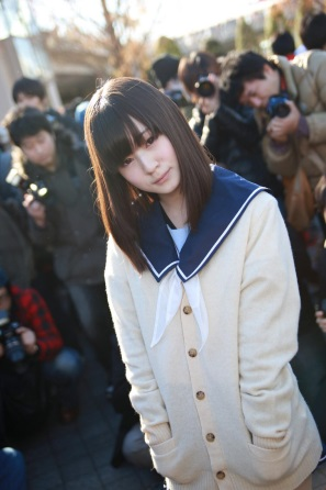 【C85】Comiket 85 WINTER 2013 - DAY 1 COSPLAY (21)