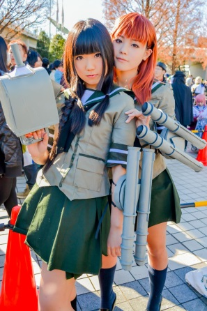 【C85】Comiket 85 WINTER 2013 - DAY 1 COSPLAY (42)