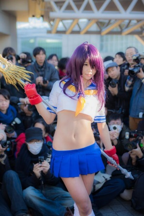 【C85】Comiket 85 WINTER 2013 - DAY 1 COSPLAY (43)