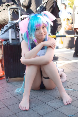 【C85】Comiket 85 WINTER 2013 - DAY 1 COSPLAY (54)