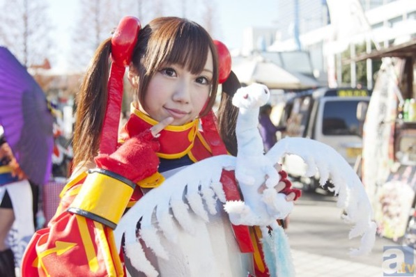 【C85】Comiket 85 WINTER 2013 - DAY 1 COSPLAY (68)