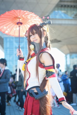 【C85】Comiket 85 WINTER 2013 - DAY 1 COSPLAY (73)