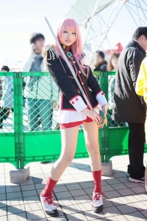【C85】Comiket 85 WINTER 2013 - DAY 1 COSPLAY (75)