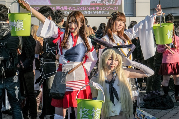 【C85】Comiket 85 WINTER 2013 - DAY 1 COSPLAY (9)