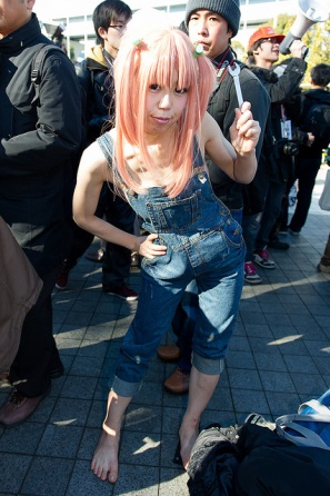【C85】Comiket 85 WINTER 2013 - DAY 2 COSPLAY (107)