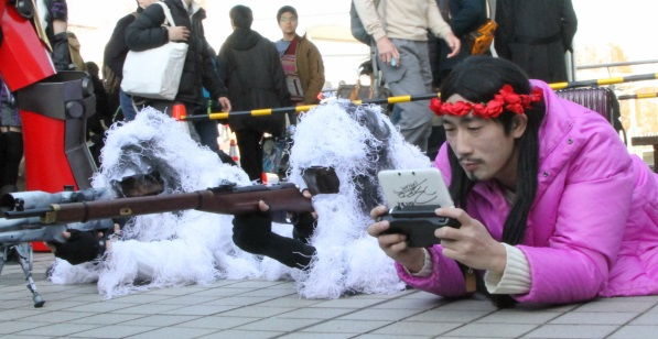 【C85】Comiket 85 WINTER 2013 - DAY 2 COSPLAY (13)