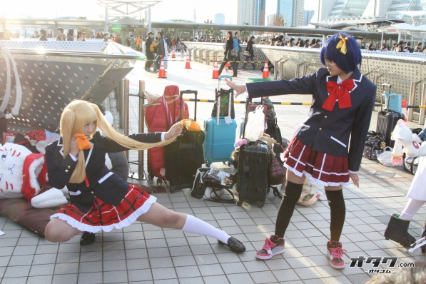 【C85】Comiket 85 WINTER 2013 - DAY 2 COSPLAY (3)
