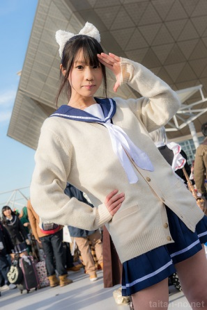 【C85】Comiket 85 WINTER 2013 - DAY 2 COSPLAY (58)
