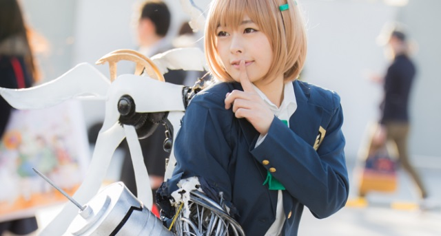 【C85】Comiket 85 WINTER 2013 - DAY 2 COSPLAY (une)