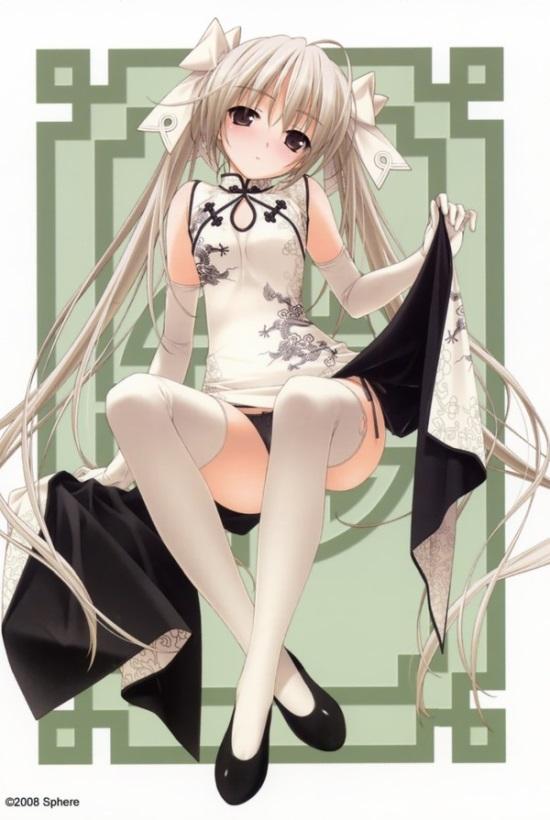 Yosuga No Sora China dress Art