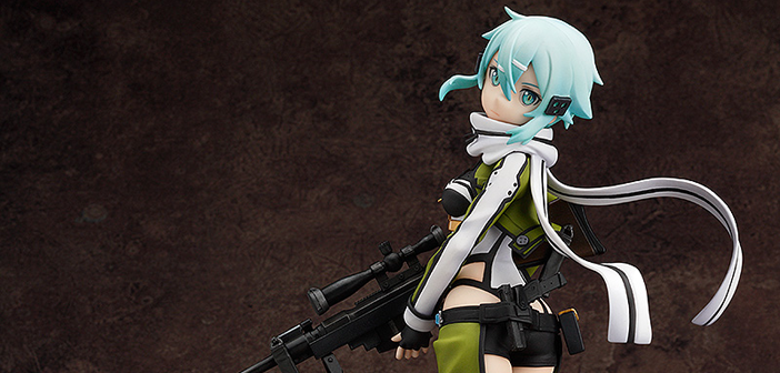 [Preview – Figurine] Sinon – Sword art Online II – Pratead