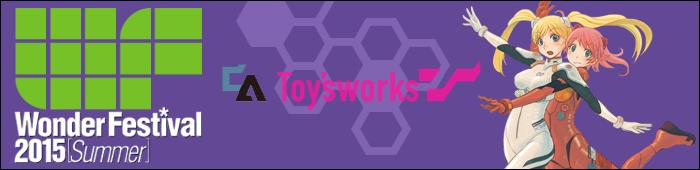 Bannière - Chara Ani Toy's Works - Wonder Festival 2015 Summer - Ruru-Berryz MoePop