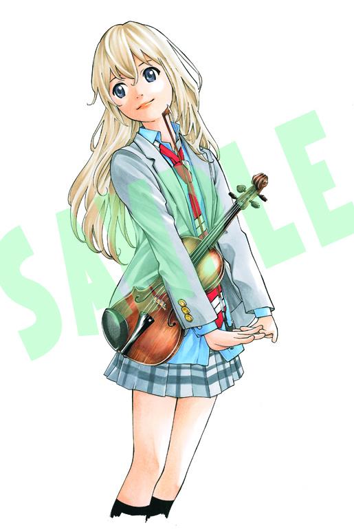 [Preview – Figurine] Miyazono Kaori – Shigatsu wa Kimi no Uso – Good Smile Company - Ruru-Berryz MoePop (1)