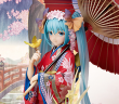 Image a la une - [Preview – Figurine] Hatsune Miku Hanairogoromo ver – Vocaloid – Stronger - Ruru-Berryz MoePop