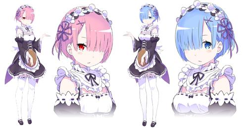 rem-ram-artwork-rezero-kara-hajimeru-isekai-seikatsu