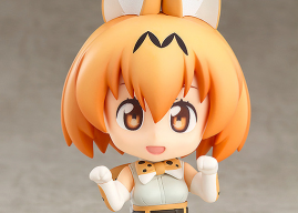 [Preview – Nendoroid] Serval – Kemono Friends – Good Smile Company