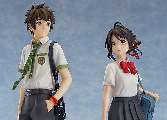 [Preview – Figurine] Miyamizu Mitsuha & Tachibana Taki – Your Name – Good Smile Company