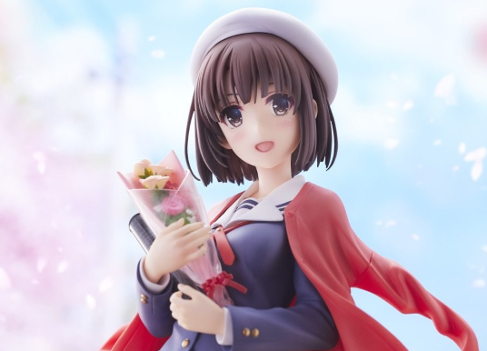 Preview Figurine Kato Megumi Graduation ver.「Saenai Heroine no Sodatekata fine」 | Alphamax / ANIPLEX
