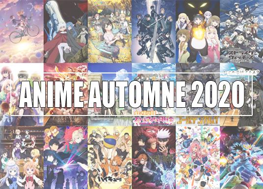 ANIME AUTOMNE 2020